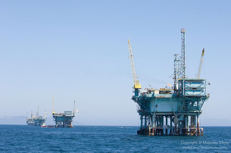 California Offshore Oil Platforms : Offshore oil rig platform g matthew meier