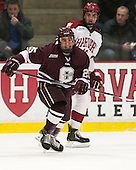 Joe Wilson (Colgate - 25) (O'Regan) - The Harvard University Crimson defeated the Colgate University Raiders 4-1 (EN) on Friday, February 15, 2013, at the Bright Hockey Center in Cambridge, Massachusetts.