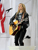 "Washington, DC - January 18, 2009 -- Cheryl Crow performs at the ""Today: We are One - The Obama Inaugural Celebration at the Lincoln Memorial"" in Washington, D.C. on Sunday, January 18, 2009..Credit: Ron Sachs / CNP.(RESTRICTION: NO New York or New Jersey Newspapers or newspapers within a 75 mile radius of New York City)"