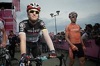 Giro d'Italia stage 13.Savano-Cervere: 121km..Jan Bakelants before the race