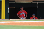Mississippi's Mike Bianco vs. South Carolina during the Southeastern Conference tournament at Regions Park in Hoover, Ala. on Wednesday, May 26, 2010.Ole Miss won 3-0.