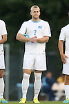 24 September 2013: North Carolina's Josh Rice. The University of North Carolina Tar Heels hosted the College of William and Mary Tribe at Fetzer Field in Chapel Hill, NC in a 2013 NCAA Division I Men's Soccer match. William and Mary won the game 1-0.