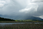 Storm clouds over the Purcell mountains captured from Boundary Creek Wildlife Mangement Area in north Idaho