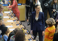 NEW YORK, NY - OCTOBER 21: Gal Gadot on hand as the UN names Wonder Woman as its Honorary Ambassador for the Empowerment of Women and Girls during a ceremony at the United Nations Economic and Social Council Chamber on October 21, 2016, in New York. Credit: Dennis Van Tine/MediaPunch
