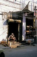 Shopkeeper, Udaipur, Rajasthan, India, 2011