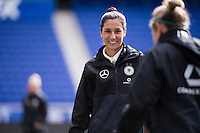HARRISON, New Jersey - Friday, March 3, 2017: German Women's National Team practices a day ahead of their match against France during the She Believes Cup.