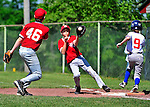 4 June 2011: The Burlington American Expos in Little League action against the Burlington American Reds at Calahan Park in Burlington, Vermont. Mandatory Credit: Ed Wolfstein Photo