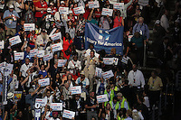 PHILADELPHIA, PA - JULY 25: View of the 2016 Democratic National Convention at The Wells Fargo Center in Philadelphia, Pennsylvania on July 25, 2016. Credit: Star Shooter/MediaPunch