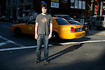 NEW YORK - MAY 9, 2007:  Actor Ron Livingston poses for portrait on the corner of Great Jones and Lafayette Streets on May 9, 2007 in New York City.  (Photograph by Michael Nagle)