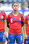 24 October 2014: Daniela Cruz (CRC). The Costa Rica Women's National Team played the Trinidad & Tobago Women's National Team at PPL Park in Chester, Pennsylvania in a 2014 CONCACAF Women's Championship semifinal game, which serves as a qualifying tournament for the 2015 FIFA Women's World Cup in Canada. Costa Rica advanced to the championship game, and qualified for next year's Women's World Cup, by winning the penalty shootout 3-0 after the game ended in a 1-1 tie after double overtime.