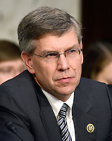 United States Representative Erik Paulsen (Republican of Minnesota), listens as Janet L. Yellen, Chair, Board of Governors of the Federal Reserve System testifies before the US Congress Joint Economic Committee  on &quot;The Economic Outlook&quot; in Washington, DC on Thursday, November 17, 2016.  In her prepared remarks Yellen stated &quot;With regard to the outlook, I expect economic growth to continue at a moderate pace sufficient to generate some further strengthening in labor market conditions and a return of inflation to the Committee&rsquo;s 2 percent objective over the next couple of years.&quot;<br />