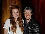 04-17-14 Amber Skye sings - Robert Gorrie comes to see her - Rockwood Music Hall, NYC