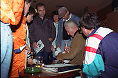 Sir stanley Matthews signing autographs in The Tangerine Nitespot