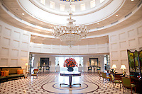 Amar Villas luxury hotel. Agra, Northern India, India