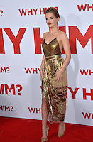 Actress Zoey Deutch at the world premiere of &quot;Why Him?&quot; at the Regency Bruin Theatre, Westwood. December 17, 2016<br /> Picture: Paul Smith/Featureflash/SilverHub 0208 004 5359/ 07711 972644 Editors@silverhubmedia.com