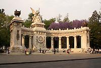 Hemicicio a Benito Juarez monument on the Alameda Central, Mexico City