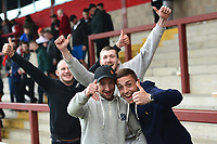 Fleetwood fans celebrate at the end of the match<br /> <br /> Photographer Richard Martin-Roberts/CameraSport<br /> <br /> The EFL Sky Bet League One - Fleetwood Town v Millwall - Monday 17th April 2017 - Highbury Stadium - Fleetwood<br /> <br /> World Copyright &copy; 2017 CameraSport. All rights reserved. 43 Linden Ave. Countesthorpe. Leicester. England. LE8 5PG - Tel: +44 (0) 116 277 4147 - admin@camerasport.com - www.camerasport.com