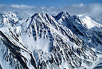 Alaska: Flying in a small plane around Mt. McKinley. Photo akflyi102..Photo copyright Lee Foster, 510/549-2202,  lee@fostertravel.com, www.fostertravel.com