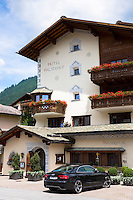 Hotel Walserhof traditional hotel and restaurant in Klosters, Graubunden region, Switzerland