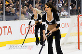 Los Angeles Ice Girls during ice-hockey match between Los Angeles Kings and Phoenix Coyotes in NHL league, March 3, 2011 at Staples Center, Los Angeles, USA. (Photo By Matic Klansek Velej / Sportida.com)