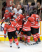 John Tavares (Canada - 19), Jordan Eberle (Canada - 14), Ryan Ellis (Canada - 8), PK Subban (Canada - 5) - Canada defeated Sweden 5-1 (2 en) in the 2009 World Junior Championship gold medal game on Monday, January 5, 2009, at Scotiabank Place in Kanata (Ottawa), Ontario.  This was the second consecutive year that Canada won gold and Sweden won silver after Canada defeated Sweden in overtime in 2008 and was Canada's fifth consecutive gold.