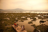 Fishing, Ajijic, Lake Chapala, Jalisco, Mexico