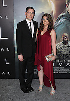 "Westwood, CA - NOVEMBER 06: Eric Heisserer, Christine Boylan at Premiere Of Paramount Pictures' ""Arrival"" At Regency Village Theatre, California on November 06, 2016. Credit: Faye Sadou/MediaPunch"