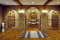Wine Cellar With Brick Archways