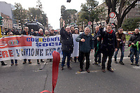 Roma, 14 Febbraio  2015<br /> Manifestazione di solidariet&agrave; con la Grecia di Alexis Tsipras e contro le politiche di austerity imposte dalla troika. Lancio di cravatte davanti l'ambasciata della Germania.<br /> Rome, February 14, 2015<br /> Demonstration of solidarity with Greece  of Alexis Tsipras and against austerity policies imposed by the Troika.  Launch of ties before the embassy of Germany