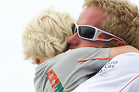 CHINA, Sanya. 4th February 2012. Volvo Ocean Race. Leg 3 Arrivals. Martin Krite, Bowman, Groupama Sailing Team.