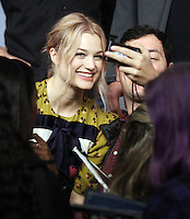 NEW YORK, NY November 09:Alison Sudol at Apple presents Meet the Cast of Fantastic Beasts and Where to Find Them at Apple Soho  in New York .November 09, 2016. Credit:RW/MediaPunch