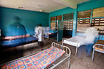 Unlike the fee-for-service VIP wards, in the public wards there are neither sheets nor pillows, and there are inadequate facilities for patients who suffer from incontinence.