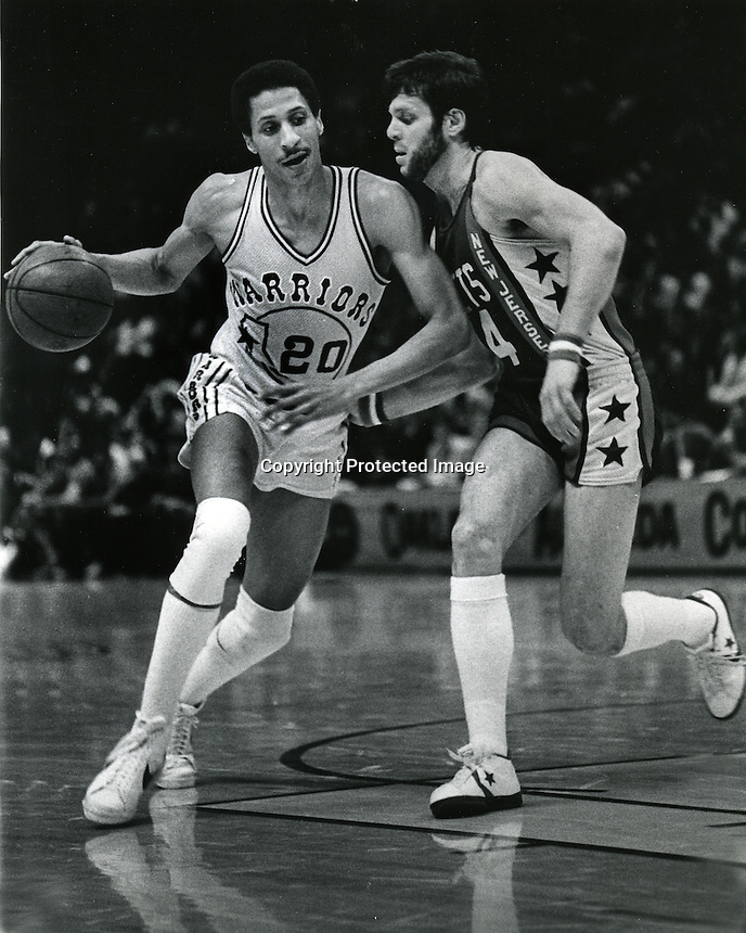 Golden State Warriors Phil Smith, New Jersey Nets <br />(photo/Ron Riesterer/Photoshelter)