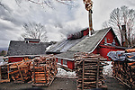 Goulds Sugar Shack in Shelburne Falls, Massachusetts