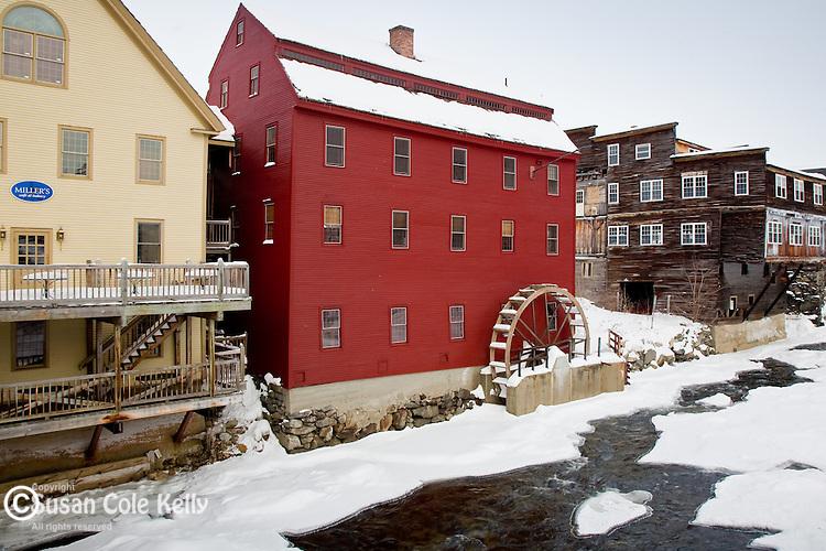 The Littleton Gristmill in Littleton, White Mountain region, NH