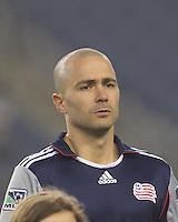 New England Revolution forward Rajko Lekic (10). In a Major League Soccer (MLS) match, the New England Revolution defeated Sporting Kansas City, 3-2, at Gillette Stadium on April 23, 2011.