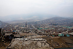 A view of the city on Wednesday, Apr. 8, 2009 in Ventanilla, Peru.