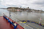 The Quebec-Lévis ferry leaves from Vieux-Quebec regularly and affords fantastic views of Quebec City during this short ride across the St. Lawrence River.  It is also used by the local population as a commuter ferry as it serves cars, bicycles and pedestrians.