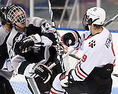 Myles Harvey (Providence - 44), Garrett Vermeersch (Northeastern - 9) - The Northeastern University Huskies defeated the visiting Providence College Friars 5-0 on Saturday, November 20, 2010, at Matthews Arena in Boston, Massachusetts.