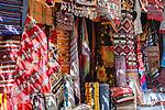 Carpet shop in the medina of Chefchaouen, Morocco.