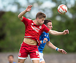 Aberdeen v St Johnstone...28.06.15  Glebe Park, Brechin..Pre-Season Friendly<br /> Cammy Smith and Brad McKay<br /> Picture by Graeme Hart.<br /> Copyright Perthshire Picture Agency<br /> Tel: 01738 623350  Mobile: 07990 594431