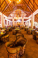 La Laguna Restaurant, Xcaret Park (Eco-archaeological Theme park), Riviera Maya, Quintana Roo, Mexico