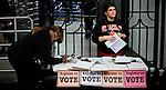 People register their names to vote in New York, United States. 08/10/2012. Photo by Eduardo Munoz Alvarez / VIEWpress.