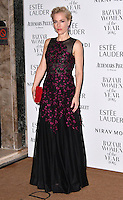 LONDON, ENGLAND - OCT 31: Gillian Anderson at Harper's Bazaar annual Women of the Year Awards, which celebrates female high-fliers, at Claridge's on October 31st, 2016 in London, England.<br /> CAP/JOR<br /> &copy;JOR/Capital Pictures /MediaPunch ***NORTH AND SOUTH AMERICA ONLY***