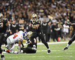 New Orleans Saints Pierre Thomas (23) vs. New York Giants at the Superdome in New Orleans, La. on Monday, November 28, 2011. New Orleans won 49-24.