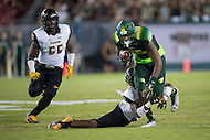 Tampa, FL - September 4th, 2016: South Florida Bulls tight end Elkanah Dillon (85) breaks free of a tackle during game against Towson at Raymond James Stadium in Tampa, FL. (Photo by Phil Peters/Media Images International)