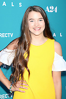 "HOLLYWOOD, CA - JULY 7: Chloe East at the ""Equals"" Premiere at the ArcLight Theater in Hollywood, California on July 7, 2016. Credit: David Edwards/MediaPunch"
