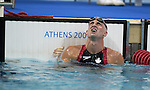 Benoît Huot obtient sa troisième d'or au quatre fois quatre nages individuel  (Jean-Baptiste Benavent 23 septembre).