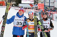 Sieger, v.l.n.r. GLOEERSEN Anders (NOR), SUNDBY Martin Johnsrud (NOR), HEIKKINEN Matti (FIN)
