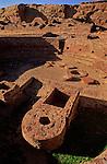 Kiva inside Casa Bonita ruin, Chaco Culture National Historical Park, New Mexico